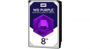 هارددیسک اینترنال وسترن دیجیتال Purple ظرفیت 8 ترابایت WD80PURZ