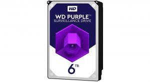 هارددیسک اینترنال وسترن دیجیتال Purple ظرفیت 6 ترابایت WD60PURZ