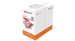 کابل شبکه Cat 6 هایک ویژن مدل DS-1LN6-UU